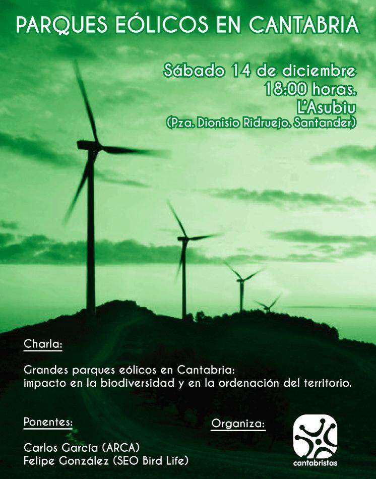 Parques eólicos en Cantabria